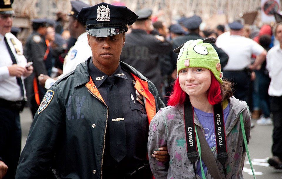 Occupy Wall Street (Citizenside/AFP)