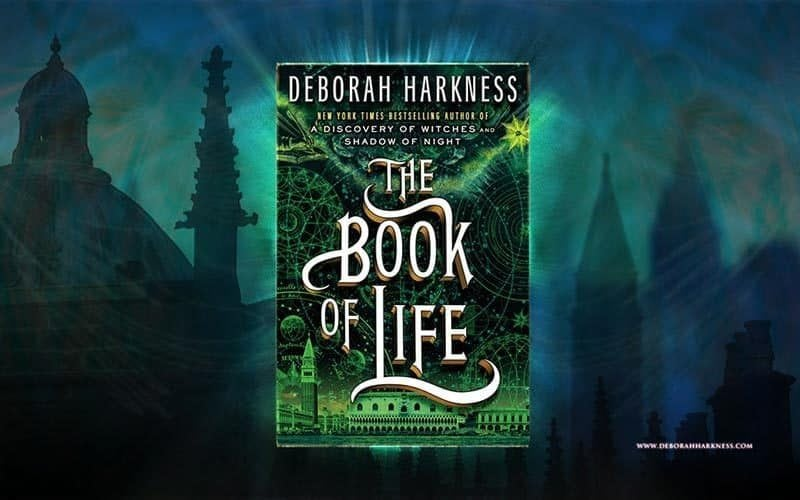 Web and promotion design for Deborah Harkness by Adrian Kinloch