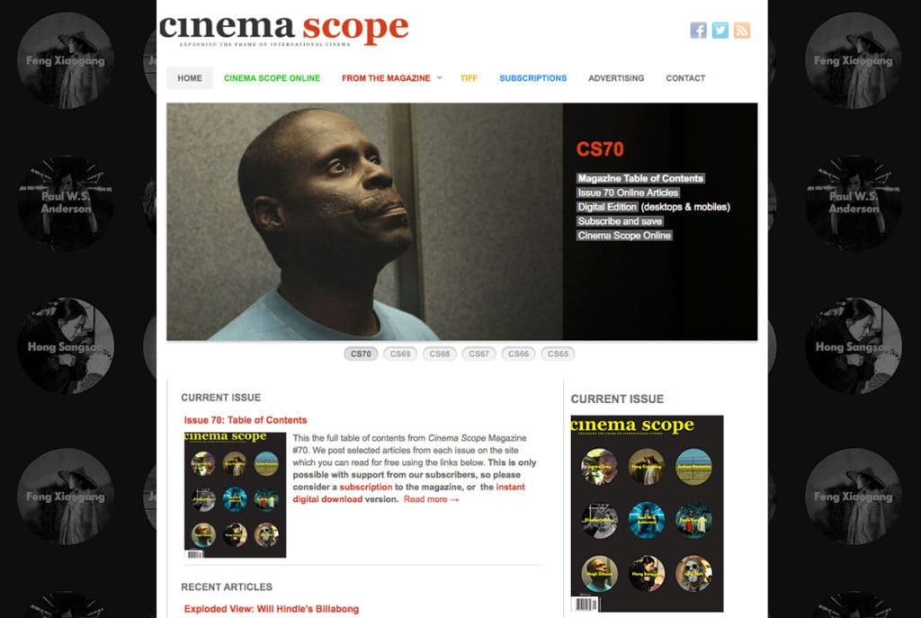 Cinema Scope Magazine
