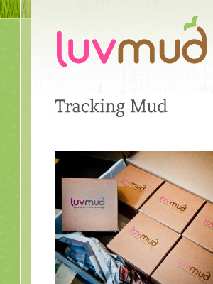 Brand design and development for NYC's LuvMud
