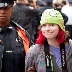 Occupy Wall Street photographs by Adrian Kinloch