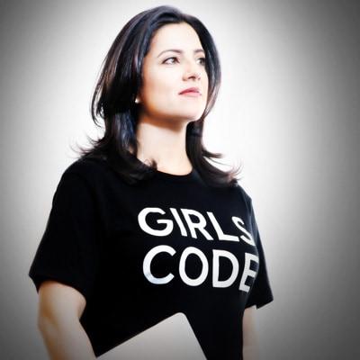 Reshma Saujani photo by Adrian Kinloch