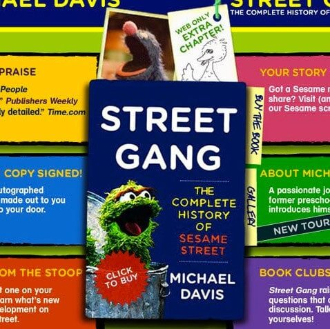 Street Gang - The Complete History of Sesame Street interactive